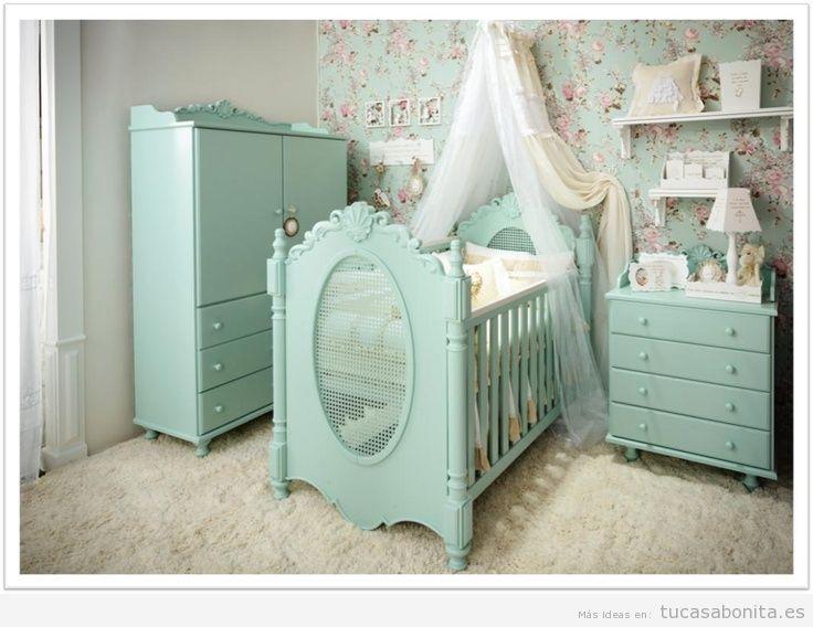 Decorar dormitorio infantil estilo francés provenzal 3