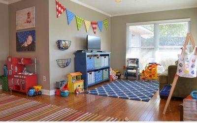 Ideas para decorar la salita de juego de los niños en casa