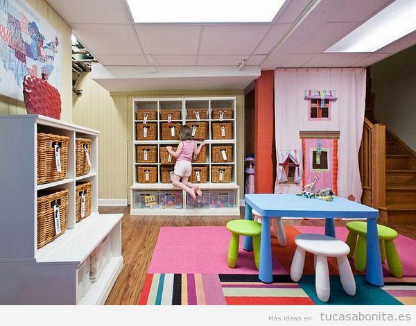 Decoración de sala de juegos infantil en casa 10