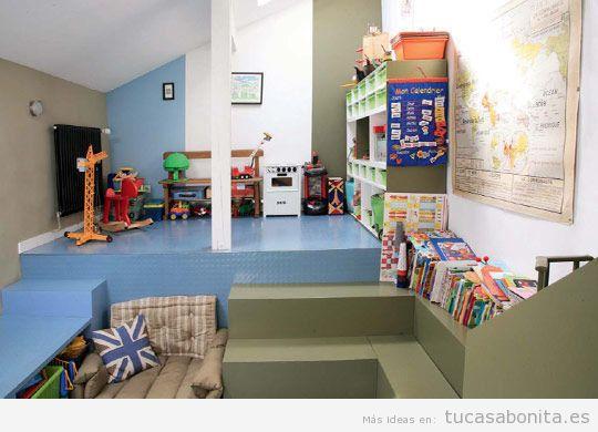 Decoración de sala de juegos infantil en casa 3