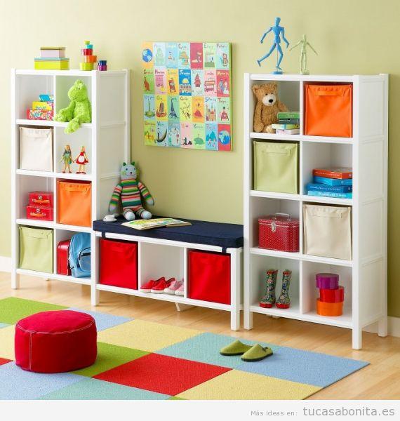 Ideas para decorar la salita de juego de los nios en casa Tu casa