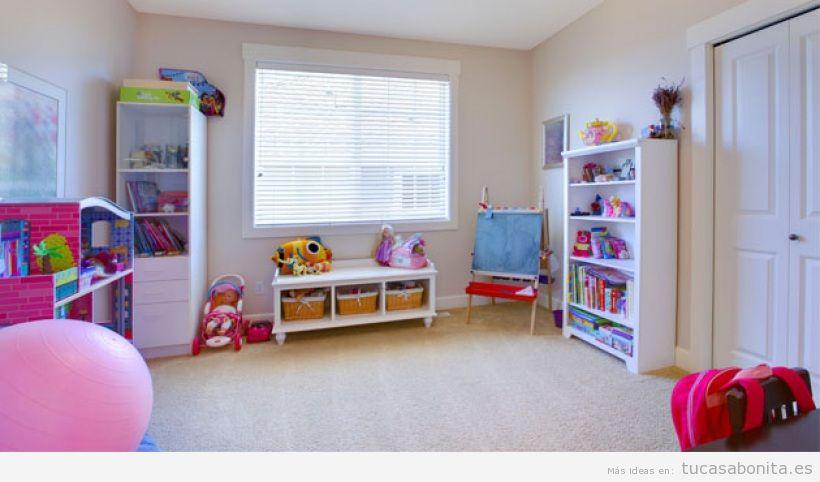 Decoración de sala de juegos infantil en casa 5
