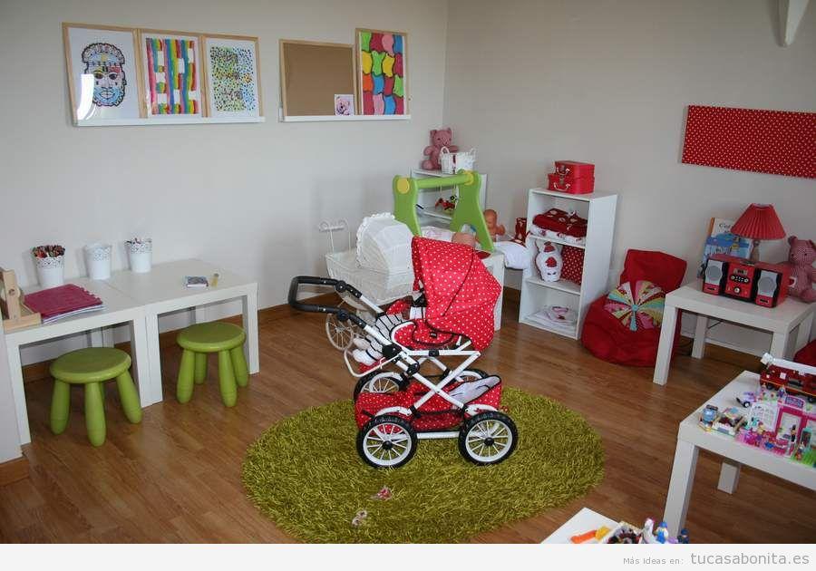 Decoración de sala de juegos infantil en casa 7