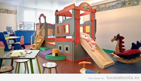 Decoración de sala de juegos infantil en casa 8