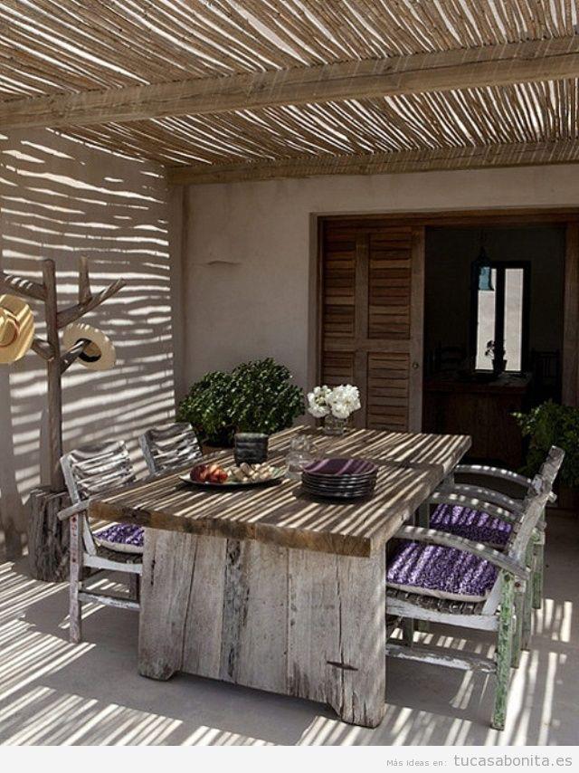 Ideas vintage para decorar tu porche for Decorar porche casa