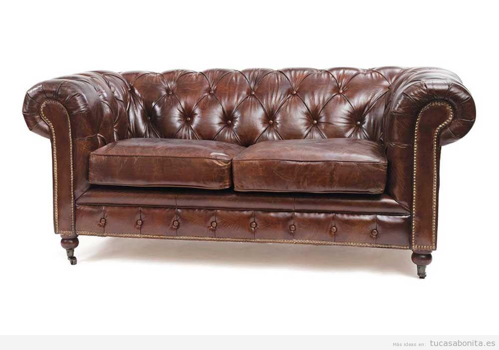Decorar salón con sofás vintage y retro 4