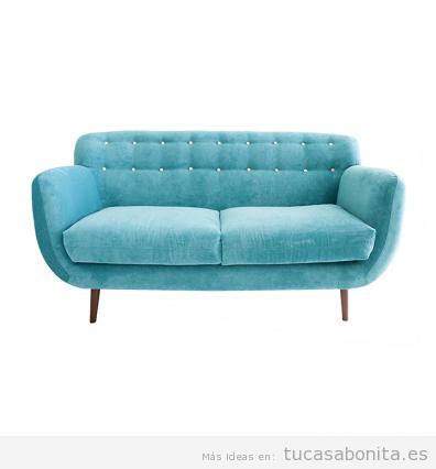 Decorar salón con sofás vintage y retro 5