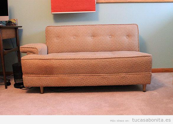 Decorar salón con sofás vintage y retro 3