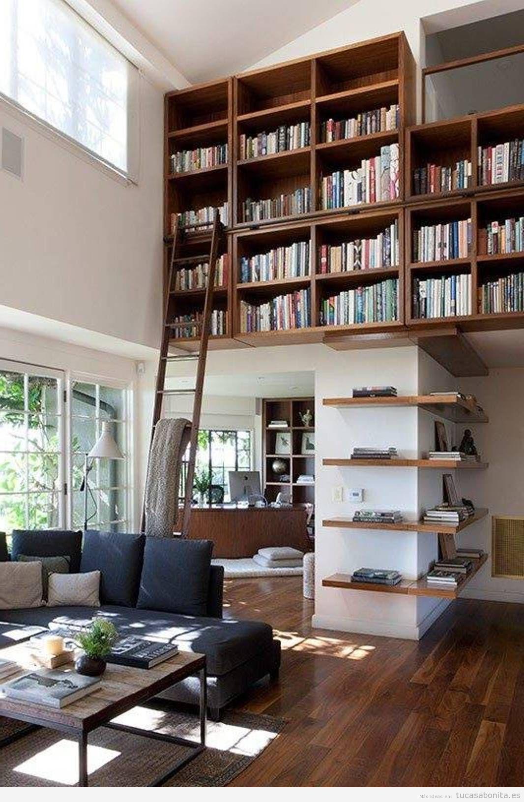 bibliotecas con escalera en casa bibliotecas con escalera en casa