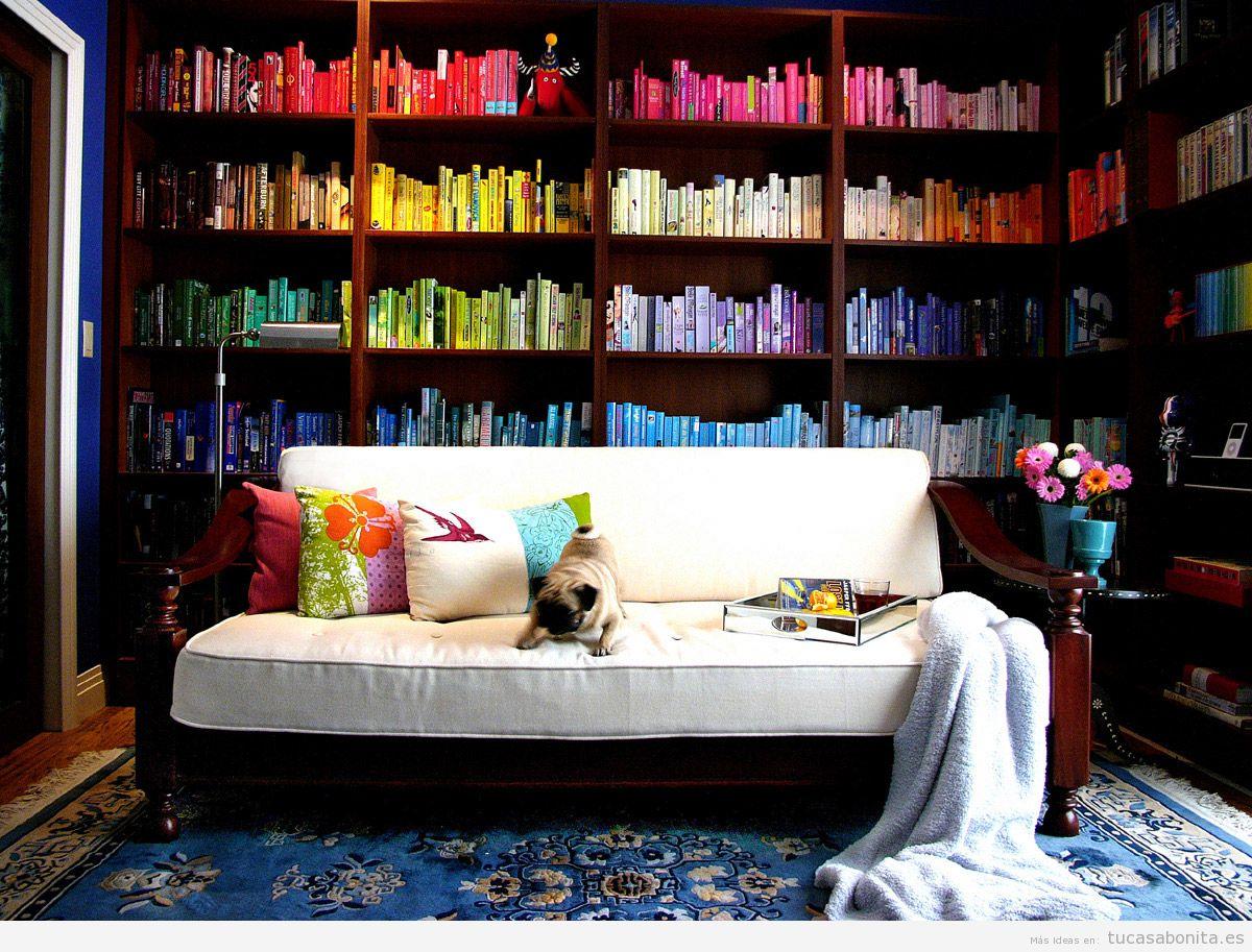 Idea diseño biblioteca en casa 3