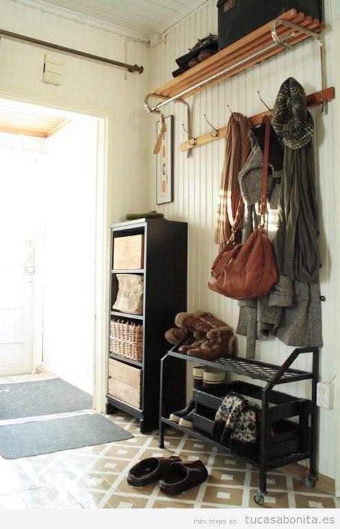 Ideas para decorar un recibidor estilo vintage y que sea for Decoracion casa vintage online