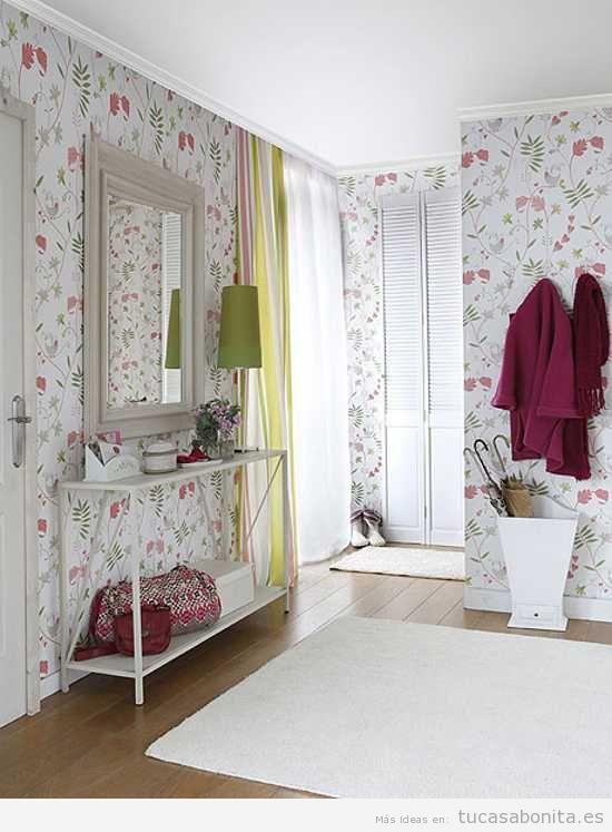 Ideas para decorar un recibidor estilo vintage y que sea funcional ...