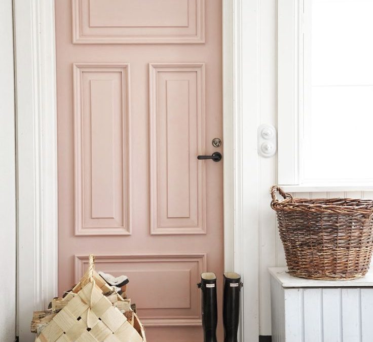 Ideas para decorar tu hogar de color rosa cuarzo, color de moda Pantone 2016