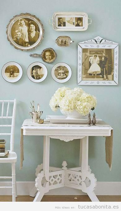 Image gallery decoraciones antiguas - Decoracion vintage de interiores ...