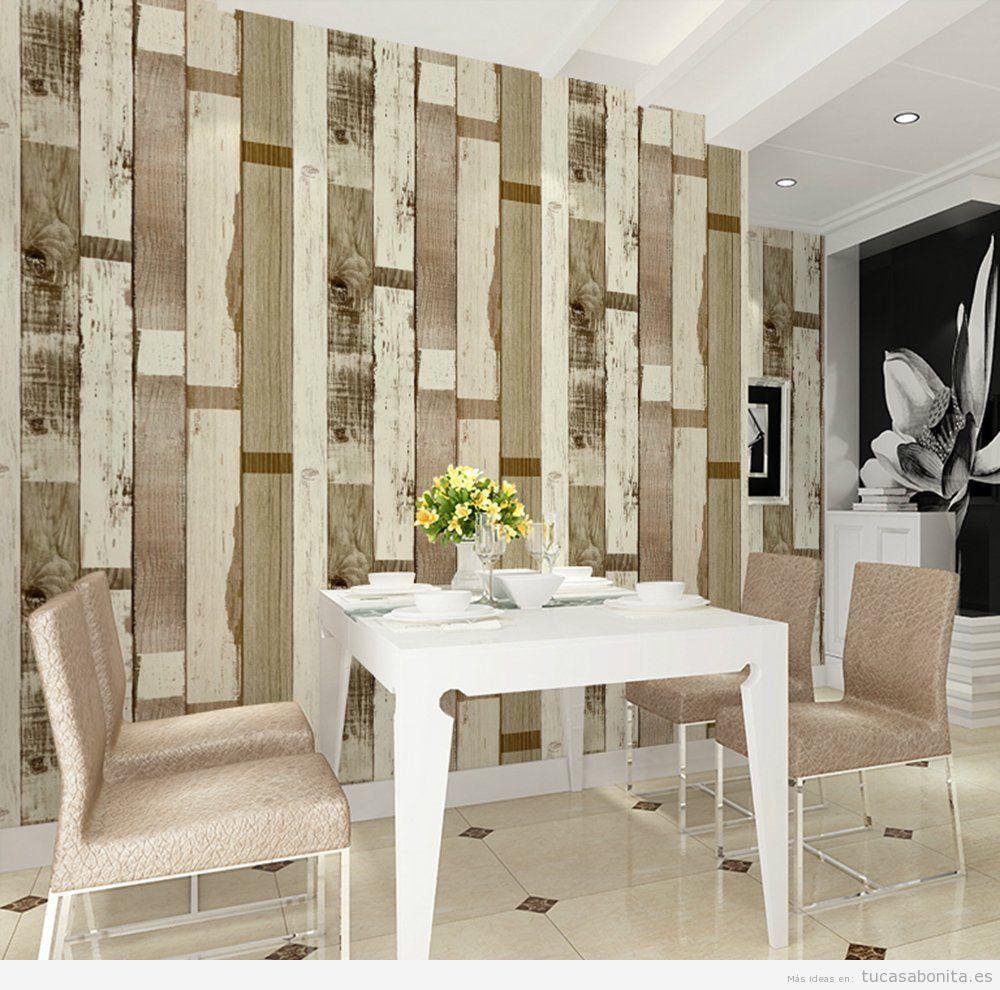 Decoración de paredes de casa estilo vintage y original - Tu casa Bonita