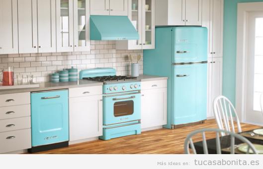 Decoración cocina casa estilo hipster
