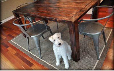 7 mesas de madera que puedes hacer tú mismo (DIY) para el comedor