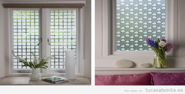 Ideas bonitas y originales para decorar ventanas sin for Pared que deja pasar la luz