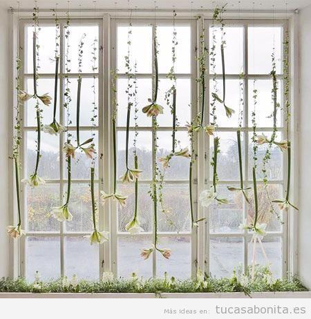 Ideas bonitas y originales para decorar ventanas sin for Cortinas de salon 2016