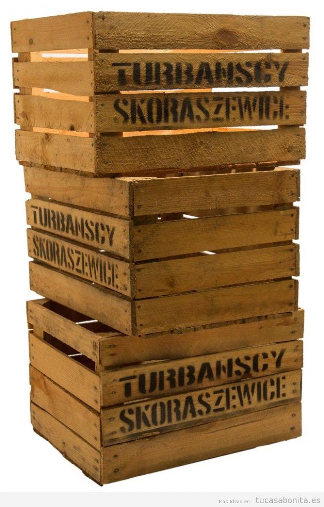 Comprar online cajas madera vintage