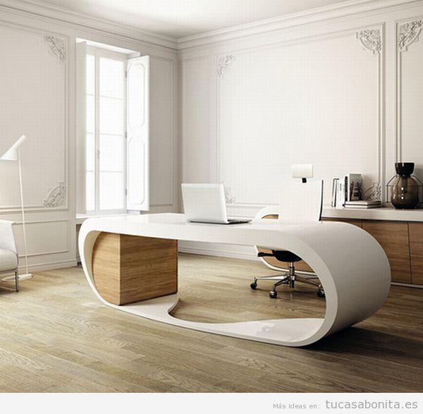 Ideas para decorar salones dormitorios cocinas y - Ideas decoracion despacho ...