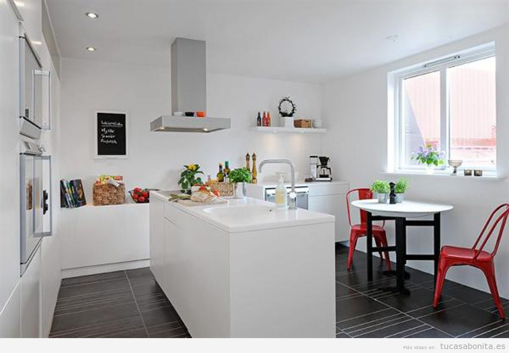 Ideas y trucos para decorar tu casa de estilo moderna o - Cocinas decoracion ideas ...