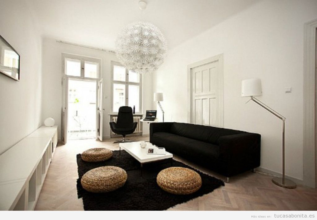 Ideas para decorar salones dormitorios cocinas y for Ideas para decorar casa minimalista