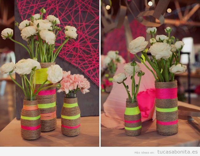 Jarrones hechos a mano para decoración de casa 12