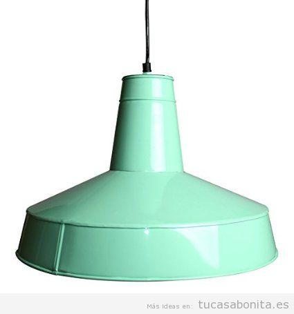 Lámparatecho tipo industrial, decoración vintage comprar