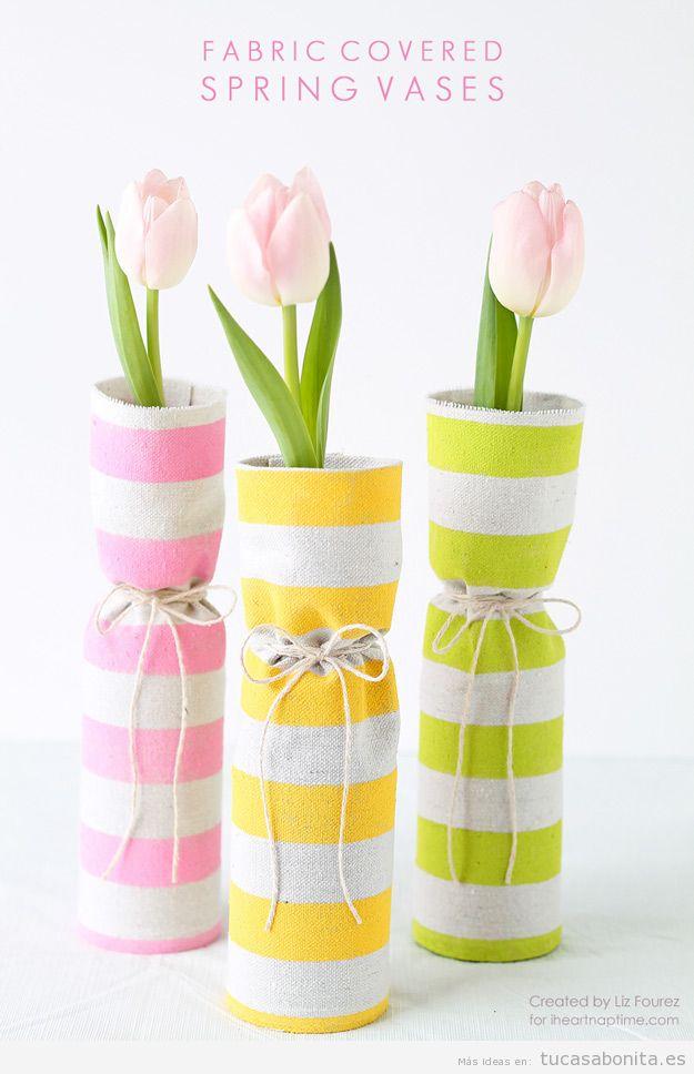 Jarrones hechos a mano para decoración de casa 11