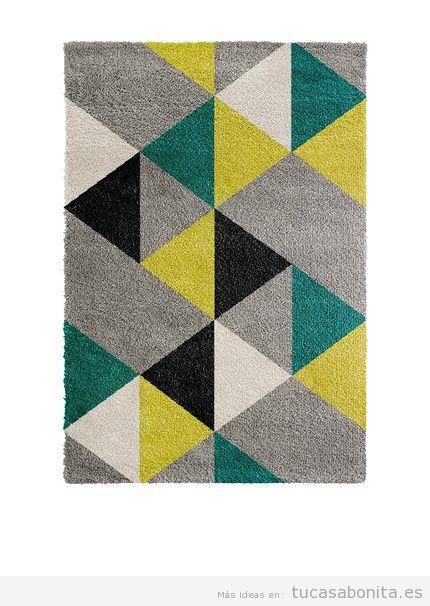 Alfombra estampado geométrico de diseño marca Kayoom Carpets, outlet online