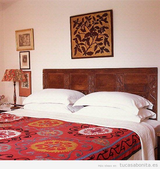 Decoración dormitorio estilo étnico 2