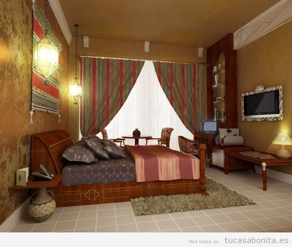Dormitorio matrimonio tu casa bonita ideas para for Decoracion estilo arabe