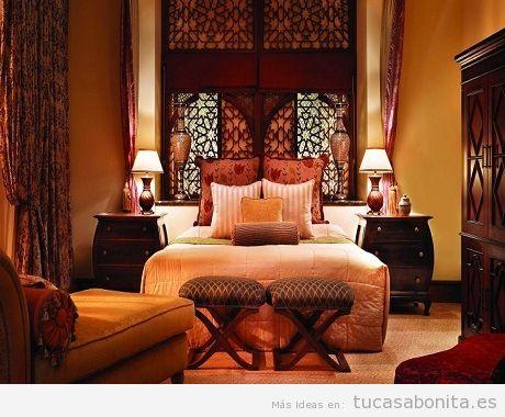 Cómo decorar una habitación de matrimonio con estilo árabe