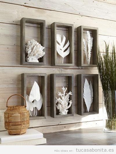 Esculturas modernas para decorar tu casa con mucho arte tu casa bonita - Decoracion paredes salon moderno ...
