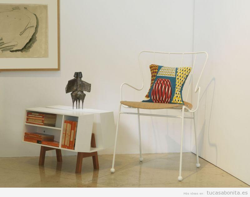 Escultura moderna decorar salón de casa