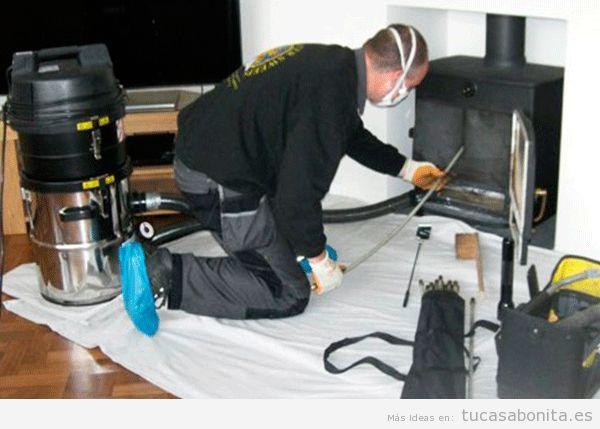 Consejosdeshonillar o limpiar chimenea