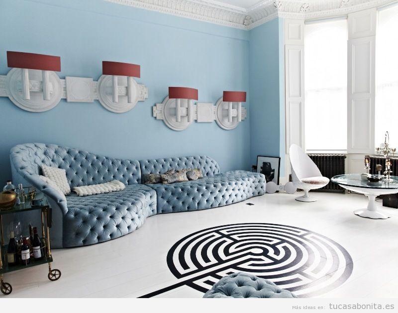 Ideas decoración surrealista para sala de estar 2