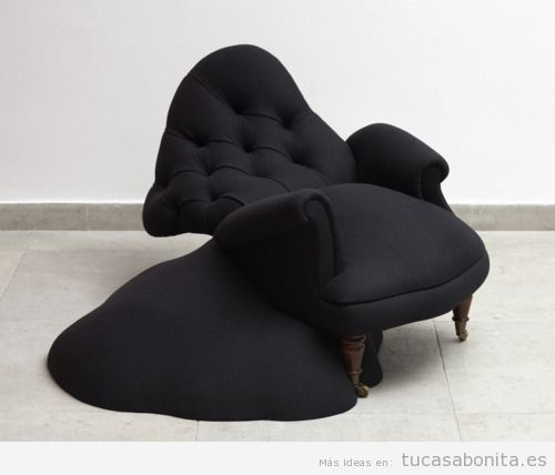 Sillón surrealista para decorar casa