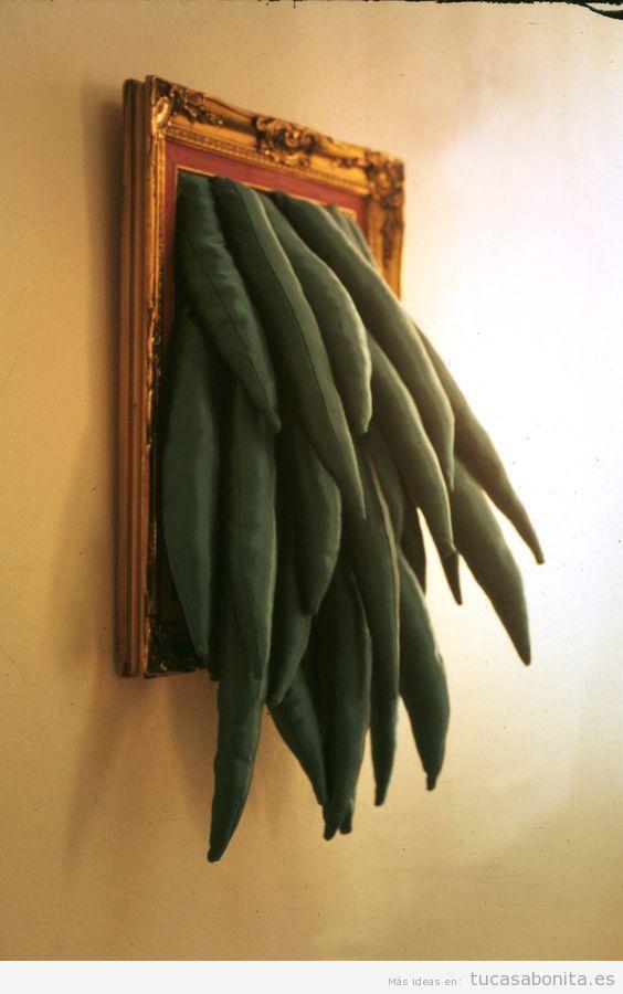 Cuadro escultura surrealista para decorar casa 2