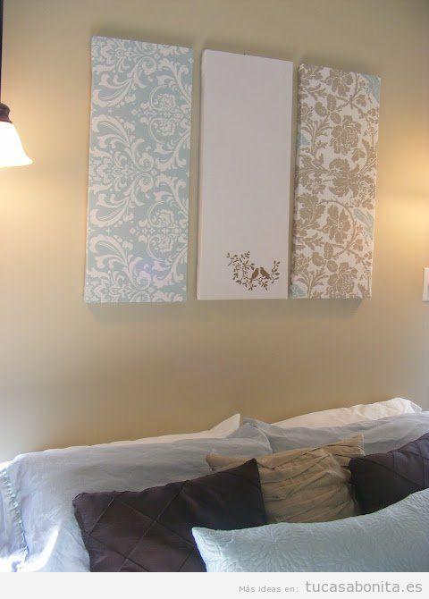 Ideas tu casa bonita ideas para decorar pisos modernos for Lienzos para salon modernos