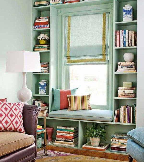 Rincones perfectos para leer en casa