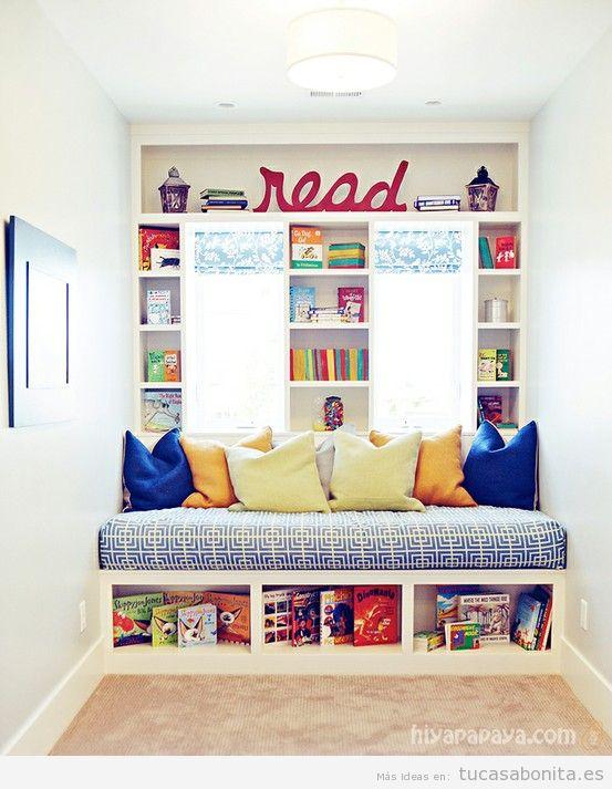 Rincones con muebles y cojines perfectos para leer en casa 7