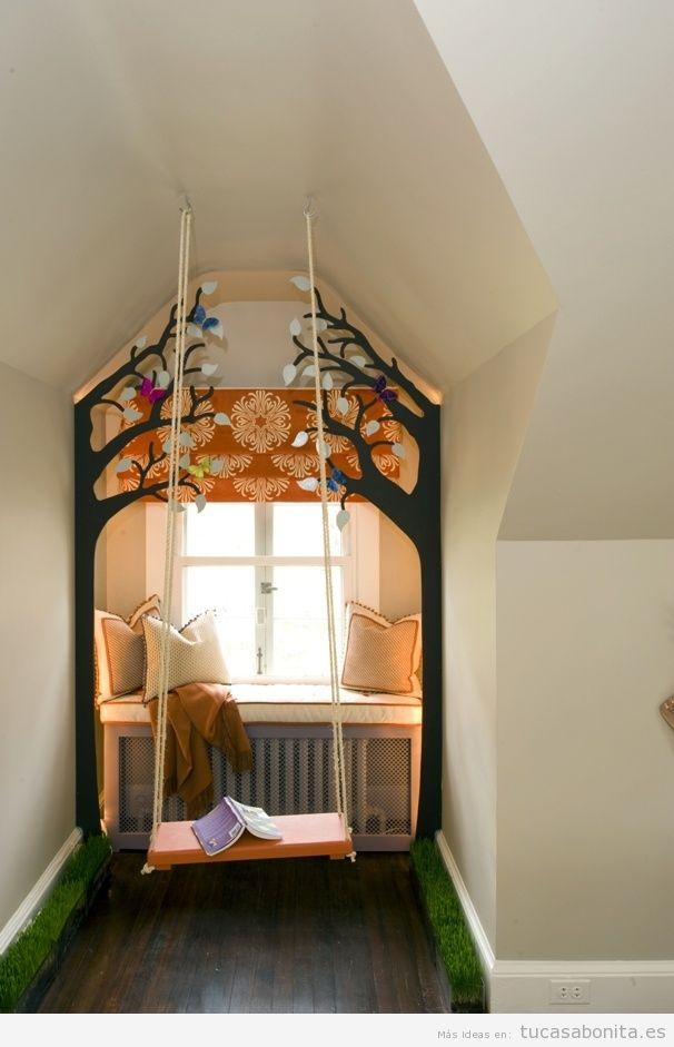 Rincones con muebles y cojines perfectos para leer en casa 8