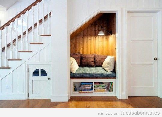 Rincones con muebles y cojines perfectos para leer en casa 2
