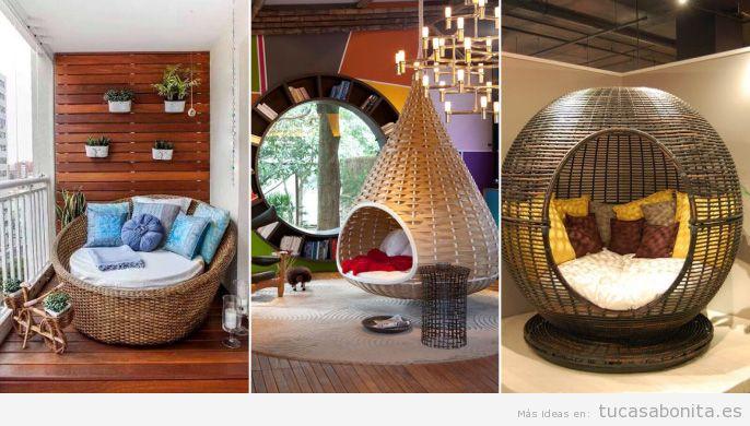 Rincones con muebles y cojines perfectos para leer en casa 4