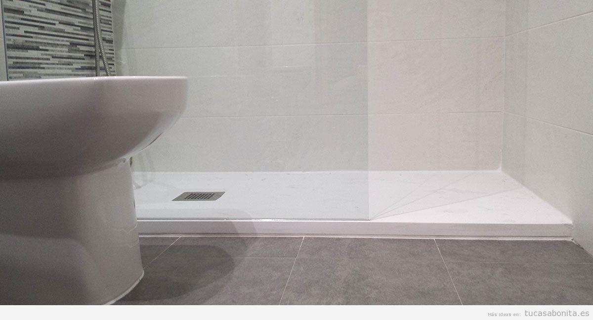 Ventajas de cambiar plato de ducha por ba era tu casa bonita - Cambiar plato de ducha ...