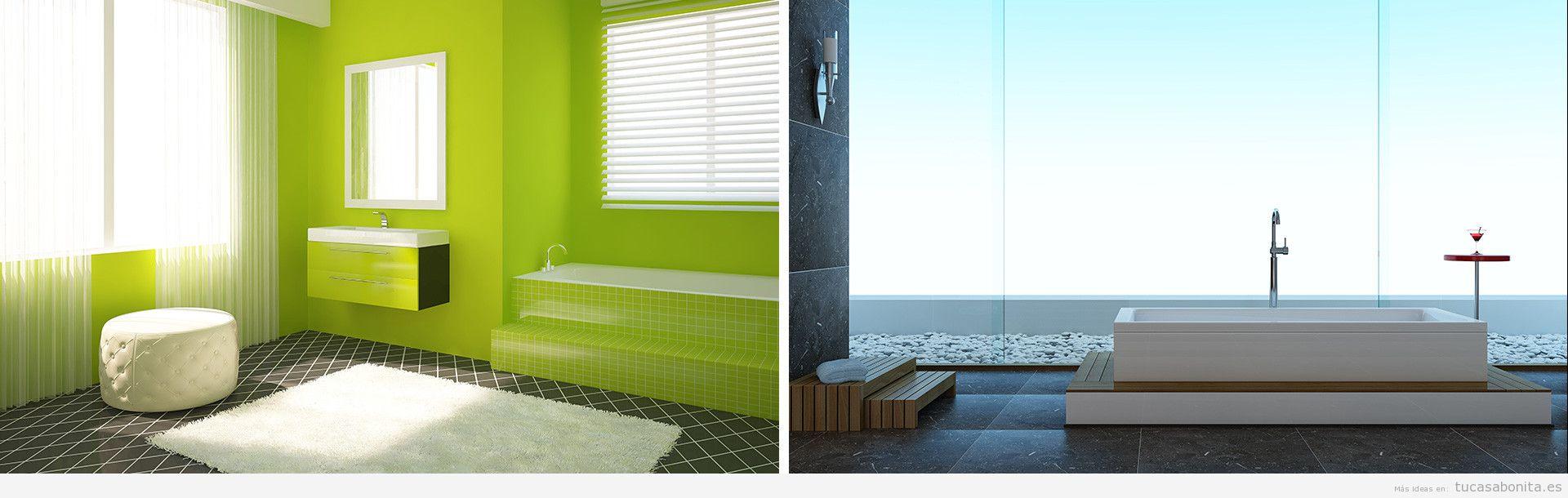Lavabo tu casa bonita ideas para decorar pisos modernos - Banos ideas diseno ...