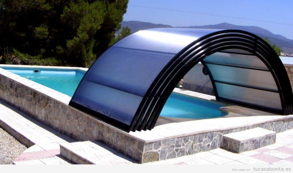 cubierta piscina baja telescópica 2