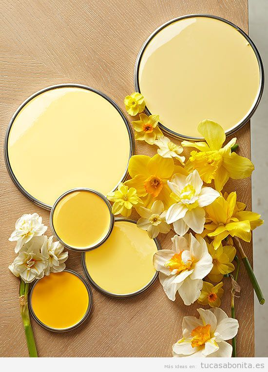 Decoración de casa en tonos amarillos para verano, wall art 2